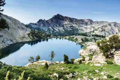 Looking Down On Liberty Lake From The The Ruby Crest National Recreation Trail