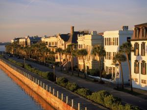 Historic Houses on Harbor, Charleston, SC by Ron Rocz