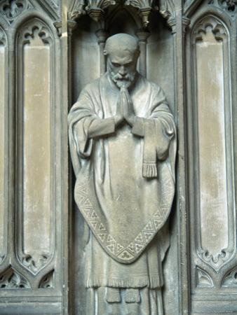 Sculpture of a Saint, UK by Ron Russell