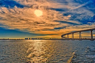 USA, Ca, San Diego Coronado Bay Bridge