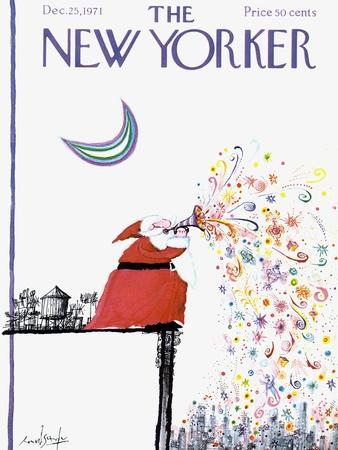 The New Yorker Cover - December 25, 1971