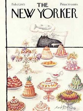 The New Yorker Cover - February 17, 1973