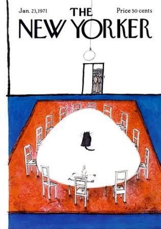 The New Yorker Cover - January 23, 1971
