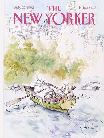 The New Yorker Cover - July 27, 1992