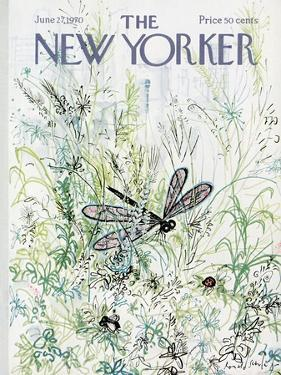 The New Yorker Cover - June 27, 1970 by Ronald Searle