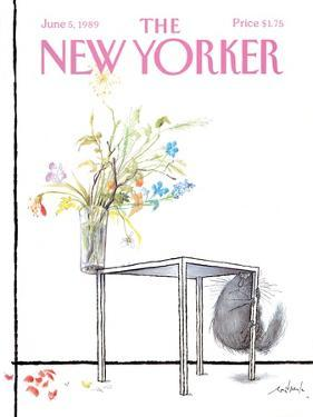 The New Yorker Cover - June 5, 1989 by Ronald Searle