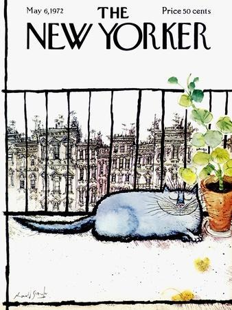 The New Yorker Cover - May 6, 1972
