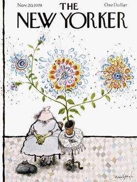 The New Yorker Cover - November 20, 1978 by Ronald Searle