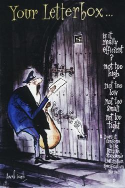 Your Letterbox by Ronald Searle