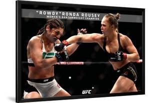 Ronda Rousey- Rowdy Ronda Bantamweight Champion
