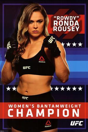 Ronda Rousey- Women's Bantamweight Champion