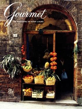 Gourmet Cover - February 1987 by Ronny Jacques
