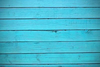 Texture of Blue Wood Planks