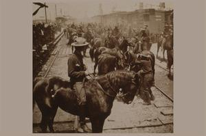 """Roosevelt's """"Rough Rider's"""" Arrival at Tampa, Fla., U.S.A."""