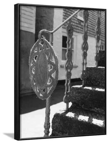 Rope Mat and Railings--Framed Photographic Print