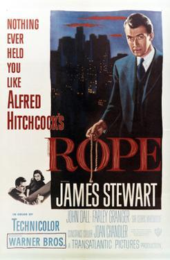 Rope Hitchcock Poster