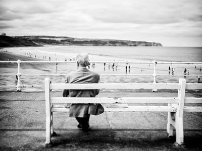 An Old Man & the Sea by Rory Garforth