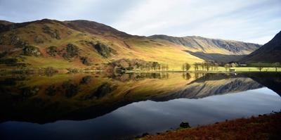 Hills and Lake by Rory Garforth