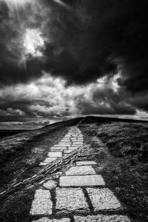 Path To Mam Tor by Rory Garforth
