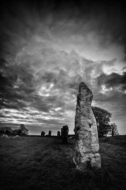 Standing Stones in Countryside by Rory Garforth