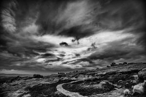 Winding Stone Path Through Moor by Rory Garforth