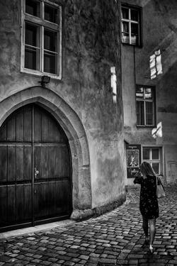 Young Woman in Old Town by Rory Garforth