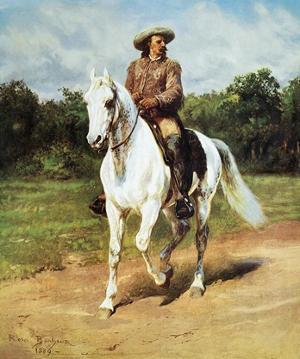 Buffalo Bill by Rosa Bonheur