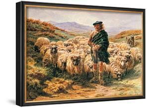Highland Shepherd by Rosa Bonheur