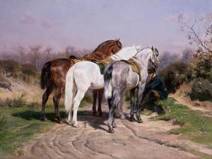 Relay Hunting, 1887 by Rosa Bonheur
