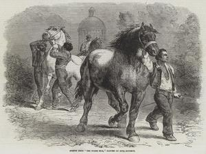 Sketch from The Horse Fair by Rosa Bonheur