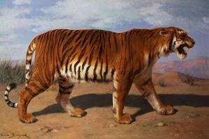 Stalking Tiger by Rosa Bonheur