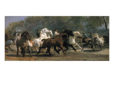 Study for the Horsemarket, 1900