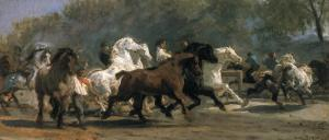 Study for the Horsemarket, 1900 by Rosa Bonheur