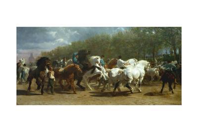 The Horse Fair, 1852-55