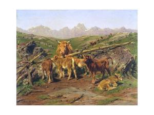 Weaning the Calves by Rosa Bonheur