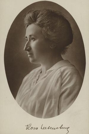 Rosa Luxemburg, German Philosopher and Socialist Revolutionary