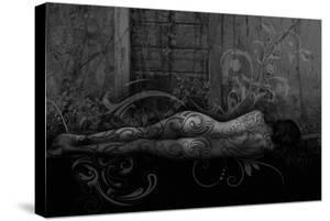 Dreamer in the Garden by Rosa Mesa