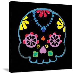 Sugar Skull Velvet II by Rosa Mesa