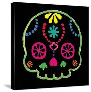 Sugar Skull Velvet IV by Rosa Mesa