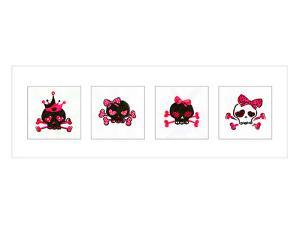 Sugar Skulls Box of 4 by Rosa Mesa