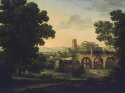 Landscape with Ruins and Wayfarers, 1812