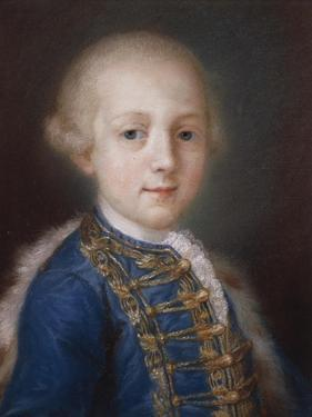 Portrait of Young Boy by Rosalba Carriera