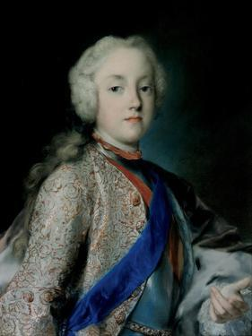 Crown Prince Frederick Christian of Saxony (1722-176), 1739-1740 by Rosalba Giovanna Carriera