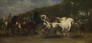 The Horse Fair, 1855 by Rosalie Bonheur