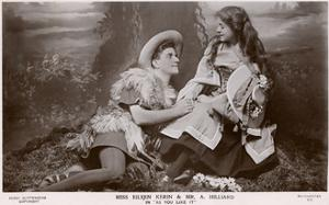 Rosalind and Orlando, 'As You Like It' Shakespeare