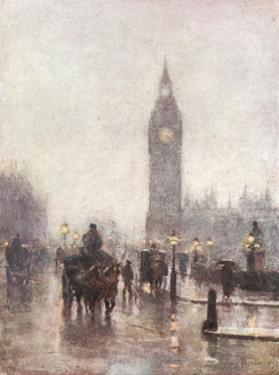Big Ben in Half Light by Rose Barton