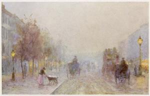 Fog, Brompton Road by Rose Barton