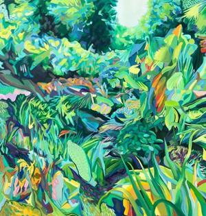 Green Growth by rose lascelles