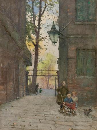 Parks Place, Knightsbridge, London, 1916