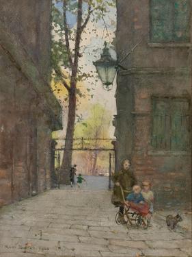 Parks Place, Knightsbridge, London, 1916 by Rose Maynard Barton
